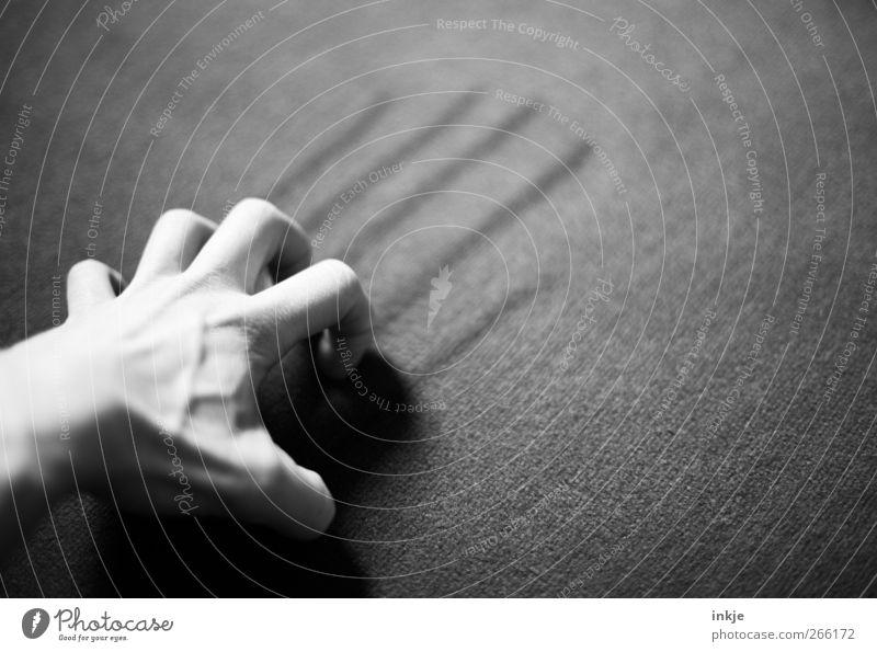 not war ! Mensch Hand Spielen Gefühle Linie Stimmung Angst Freizeit & Hobby wild bedrohlich Kommunizieren Zeichen Wut zeichnen machen Stress