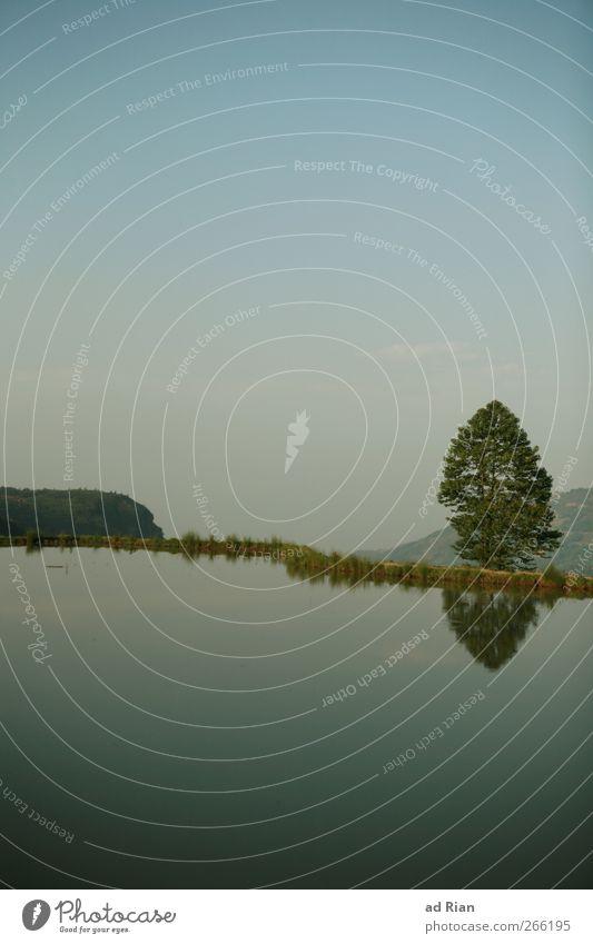 I face the horizon... Himmel Natur schön Baum Landschaft See Zufriedenheit Feld elegant Hügel Schönes Wetter Unendlichkeit Seeufer China Flussufer Teich