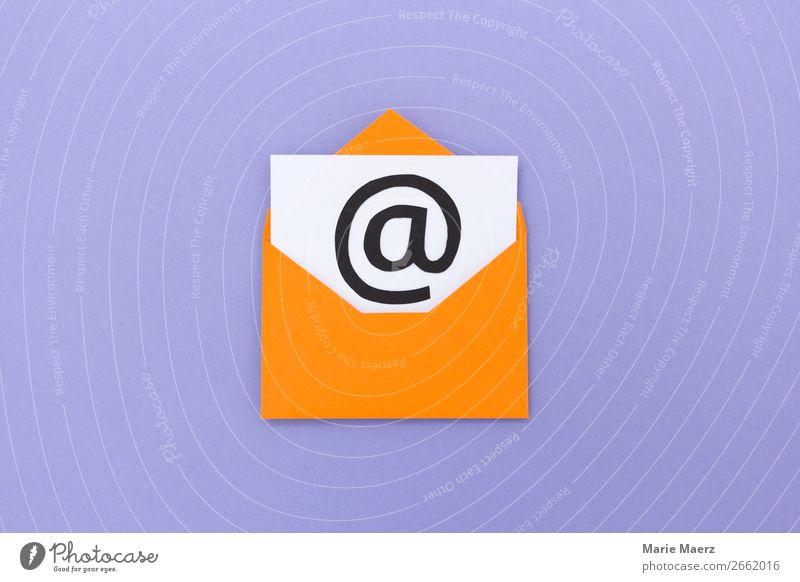 E-Mail Symbol Medienbranche Werbebranche Business sprechen Zeichen Kommunizieren lesen schreiben frech neu mehrfarbig Erfolg Dienstleistungsgewerbe Kontakt