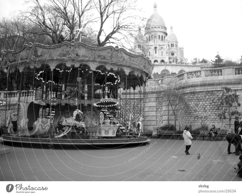 Paris - Sacre Coeur Stadt historisch Reitbahn