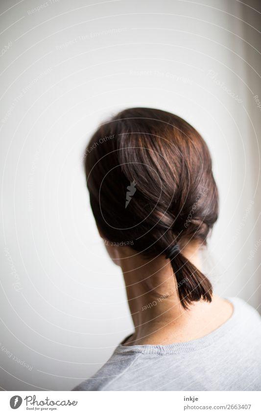 Zopf Frau Junge Frau schön Erwachsene Haare & Frisuren authentisch 1 Mensch 30-45 Jahre geflochten