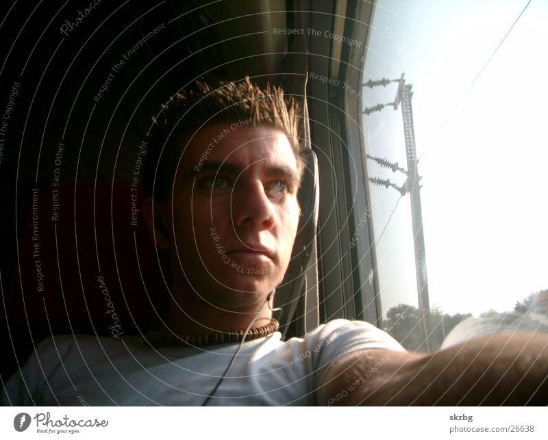 skzbg Eisenbahn Mensch schöner französischer Mann