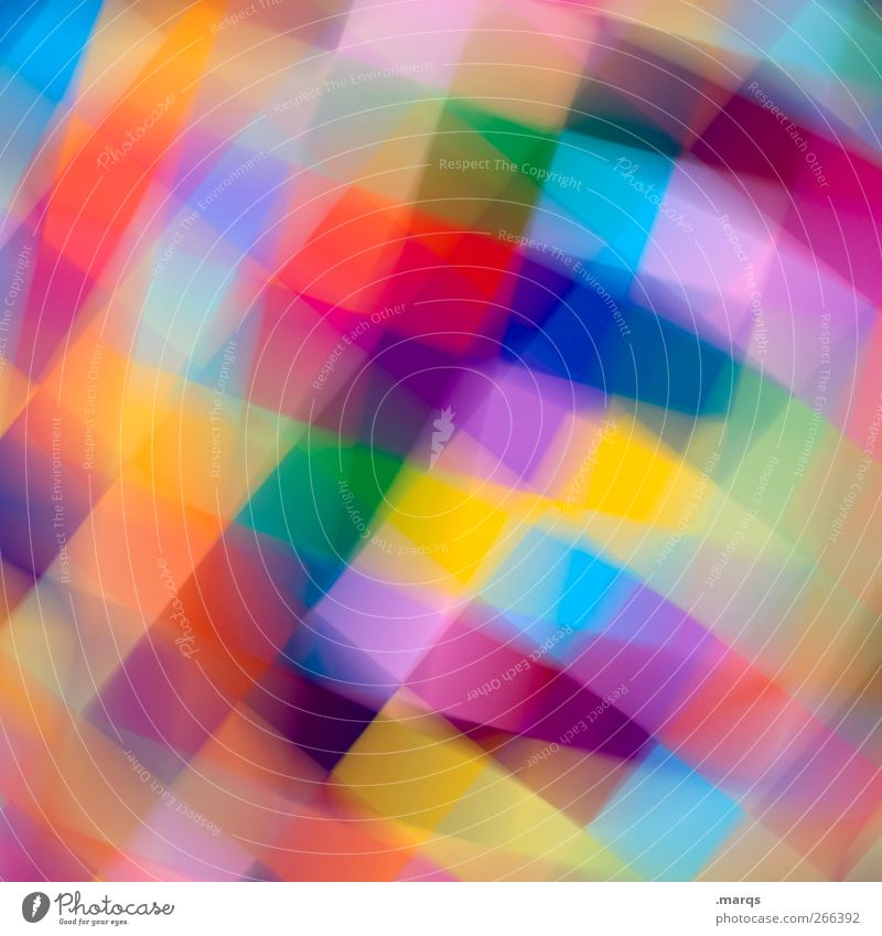 Interferenz Lifestyle elegant Stil Design Kunst außergewöhnlich Coolness trendy einzigartig schön verrückt mehrfarbig chaotisch Farbe Dekoration & Verzierung