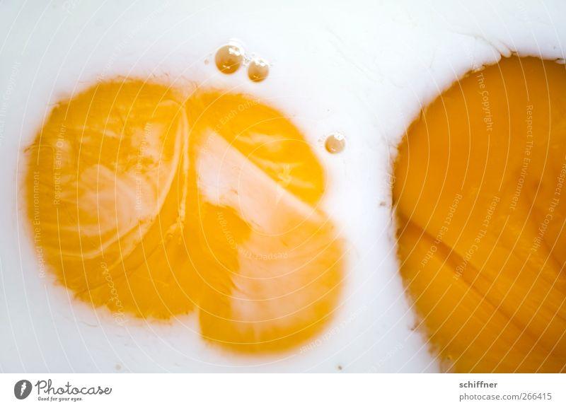 Strampelnde Eier weiß gelb Hintergrundbild Lebensmittel Ernährung Eigelb Strukturen & Formen Spiegelei
