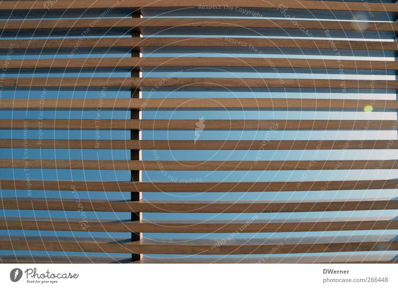 IIIIIII Himmel Sonne Sommer Architektur Holz Linie Horizont braun Fassade Design leuchten Dach Unendlichkeit Bauwerk lang dünn