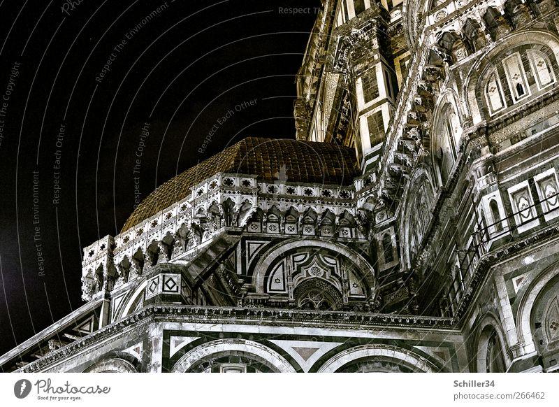 Firenze Stadt Ferien & Urlaub & Reisen Wand Architektur Religion & Glaube Stein Mauer Gebäude Fassade groß Tourismus Kirche Dach Italien Bauwerk