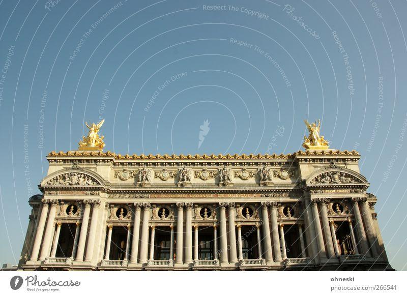Ganz große Oper! alt Haus Architektur Gebäude Fassade ästhetisch Bauwerk Sehenswürdigkeit Opernhaus