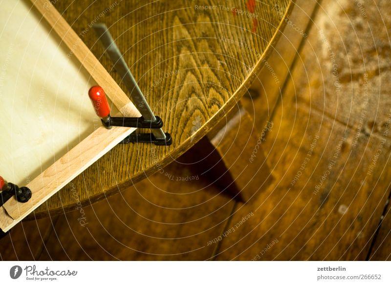Schraubzwinge Holz Arbeit & Erwerbstätigkeit Freizeit & Hobby Handwerk Werkstatt bauen Arbeitsplatz Basteln kleben Tischler Säge Schraubzwinge Bastler