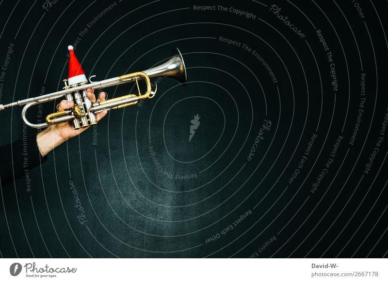 Weihnachtslieder II Mensch Jugendliche Mann Junger Mann Hand Freude Erwachsene Leben Stil Kunst Spielen Design Freizeit & Hobby maskulin Musik elegant