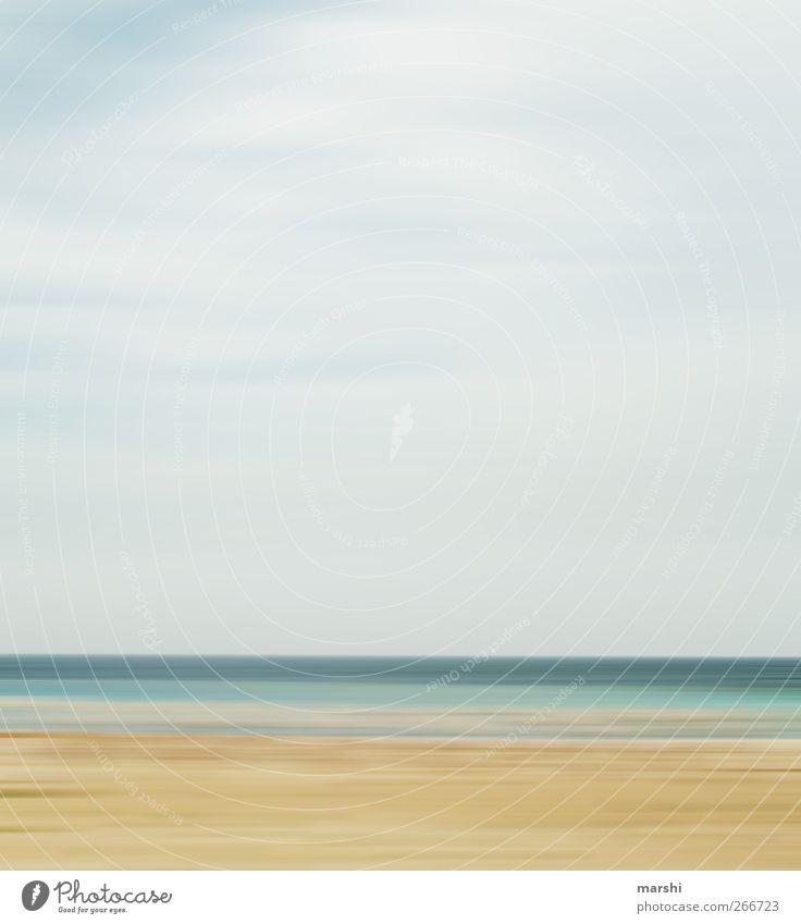 Urlaubsfantasie Natur Landschaft Himmel Sonne Frühling Sommer Meer blau braun gelb Strand Ferien & Urlaub & Reisen Urlaubsfoto Urlaubsstimmung Urlaubsort