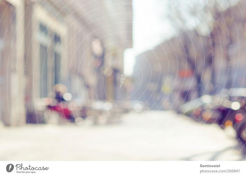Berlin Stadt Hauptstadt Stadtzentrum Haus Gebäude Fassade hell Sonne Café Kreuzberg Farbfoto Außenaufnahme Textfreiraum unten Tag Reflexion & Spiegelung