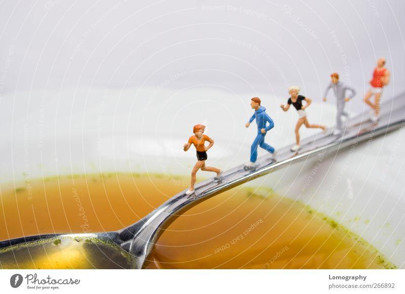 Fit & Gesund Mensch schön Ernährung Leben Sport Lebensmittel Bewegung Menschengruppe Essen Gesundheit Freizeit & Hobby laufen ästhetisch Gesunde Ernährung Übergewicht Fitness