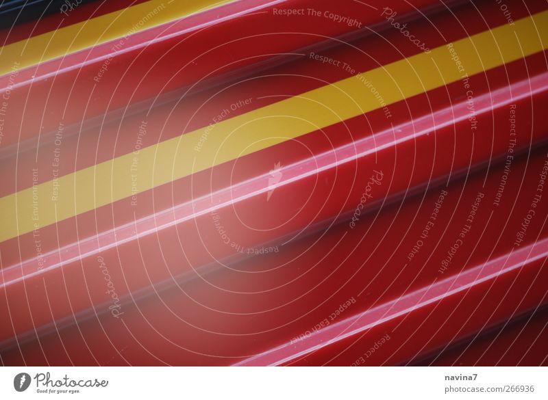 RotGelBrosa rot Farbe gelb Geschwindigkeit verrückt Streifen diagonal gerade Entertainment Kunstwerk