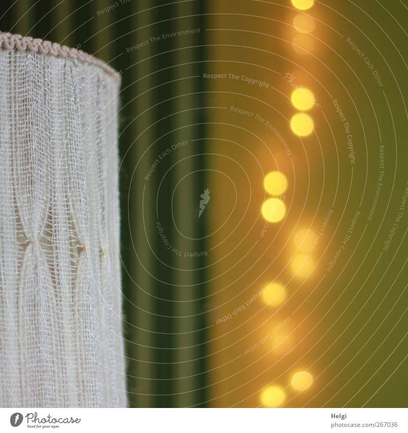 Goldregen... alt weiß grün gelb Leben Linie Stimmung außergewöhnlich ästhetisch leuchten Häusliches Leben stehen Dekoration & Verzierung Kreis Coolness Streifen