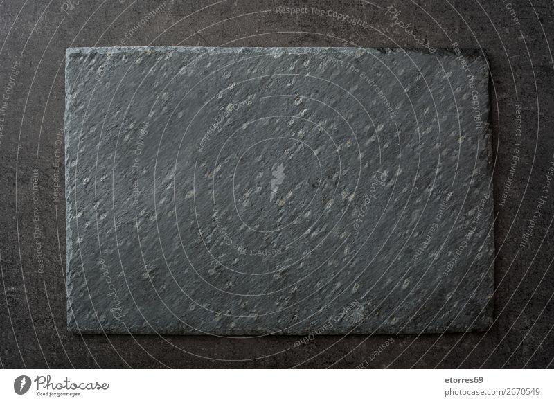 Dunkelgrauer schwarzer Schieferhintergrund oder Textur Stein Hintergrund neutral Hintergrundbild Konsistenz Oberfläche Felsen Wand Mauer Material Kreide Granit