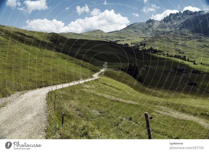 Licht und Schatten Leben harmonisch Erholung ruhig Ferien & Urlaub & Reisen Tourismus Ausflug Abenteuer Ferne Freiheit wandern Umwelt Natur Landschaft Himmel