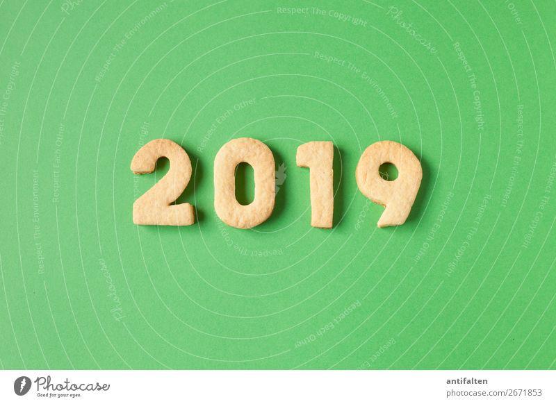 2019 wird's grün Teigwaren Backwaren Süßwaren Plätzchen Plätzchen ausstechen Keks Ernährung Kaffeetrinken Freizeit & Hobby backen Ferien & Urlaub & Reisen