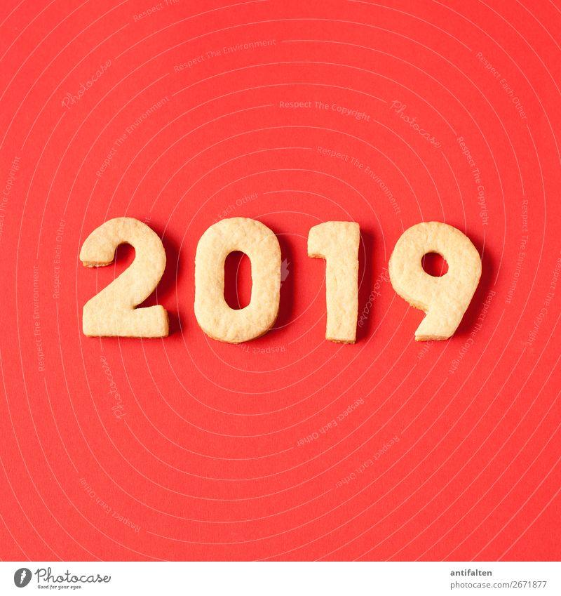 2019 wird's rot Teigwaren Backwaren Keks Plätzchen Plätzchen ausstechen Ernährung Kaffeetrinken Freizeit & Hobby backen Nachtleben Entertainment Party