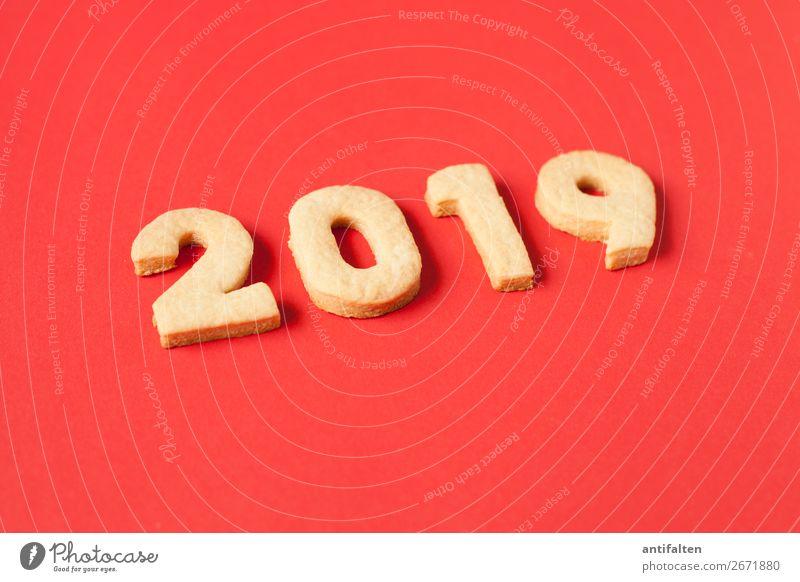 Adventszeit 2019 Teigwaren Backwaren Plätzchen Plätzchen ausstechen Keks Ernährung Essen Kaffeetrinken Freizeit & Hobby backen Ziffern & Zahlen Jahreszahl