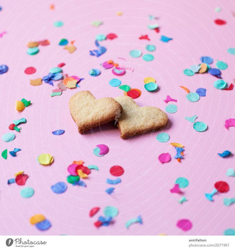<3-lichen Dank Weihnachten & Advent Freude Essen Lifestyle Liebe Feste & Feiern Party rosa Freizeit & Hobby Ernährung Geburtstag Herz Lebensfreude genießen