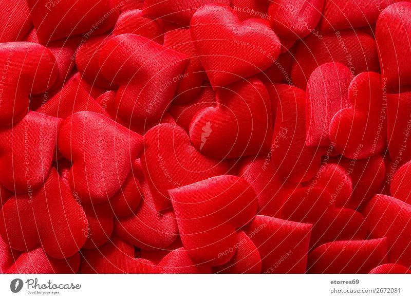 Rotes Herz Hintergrund für den Valentinstag. Muster rot Hintergrund neutral Hintergrundbild Liebe Romantik Ferien & Urlaub & Reisen Feste & Feiern Feiertag