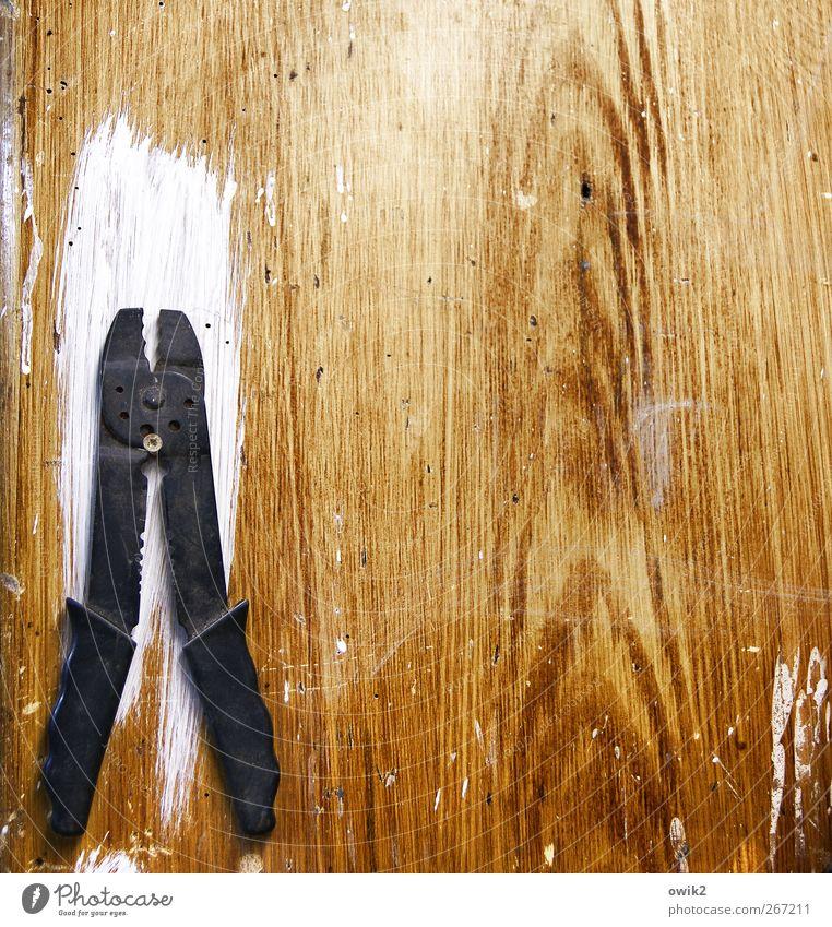 Mal wieder zum Zahnarzt weiß schwarz gelb Holz Metall braun Kraft Freizeit & Hobby Ordnung Macht einfach Kunststoff fest stark Dienstleistungsgewerbe Werkstatt