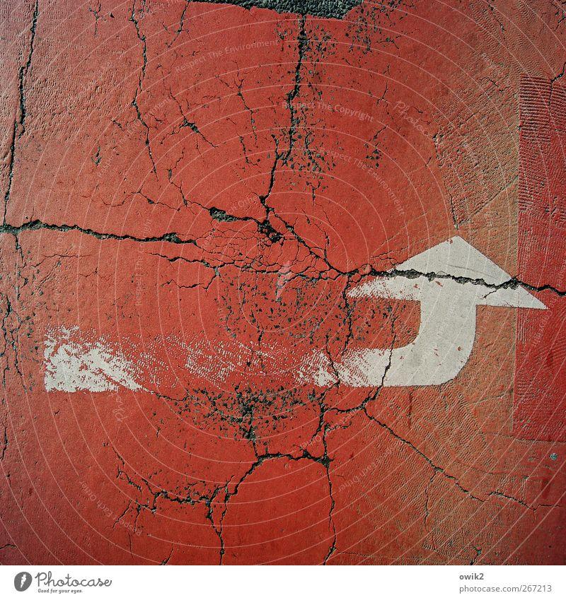 Unicode alt weiß rot Straße Farbstoff Schilder & Markierungen Verkehr Symbole & Metaphern Asphalt einfach Spuren Zeichen fantastisch unten Pfeil Straßenbelag