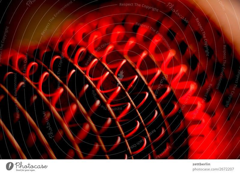Heizperiode elektronisch Elektrizität elektrisch Heizung Heizkörper Energiewirtschaft Glut glühend Heizspirale heiß Draht rotglühend Hotline Wärme gemütlich