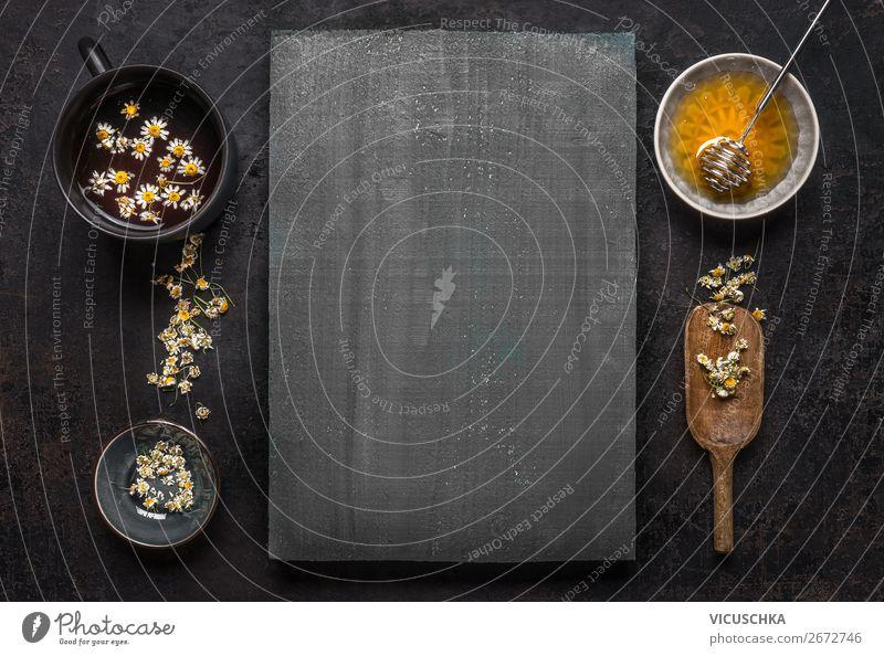 Kamillentee mit Honig Stil Design Gesundheit Behandlung Alternativmedizin Gesunde Ernährung Natur Gesundheitswesen Hintergrundbild Vorteil Hausmittel