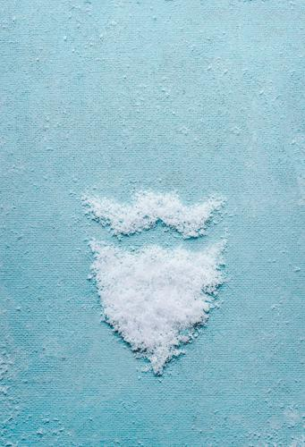 Weihnachtsmann Bart und Schnurrbart gemacht mit Schnee kaufen Stil Design Freude Winter Dekoration & Verzierung Party Feste & Feiern Weihnachten & Advent 1
