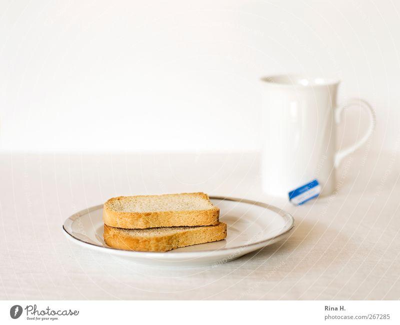 Schonkost II weiß Ernährung hell Tee Teller Diät Backwaren Becher Teigwaren Völlerei Teebeutel