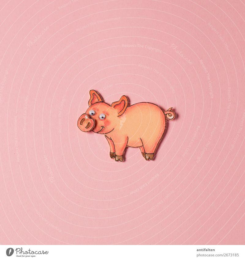 """Schweinchen """"Rosa"""" Freizeit & Hobby Basteln zeichnen Moosgummi Ferien & Urlaub & Reisen Tourismus Ausflug Sommerurlaub Feste & Feiern Silvester u. Neujahr"""