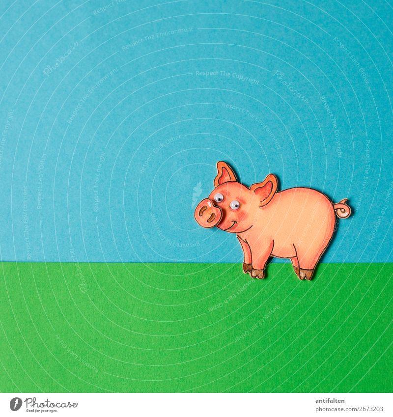 Glücksschweinchen Freizeit & Hobby Basteln Moosgummi zeichnen Party Veranstaltung Feste & Feiern Silvester u. Neujahr Hochzeit Geburtstag Natur Frühling Winter