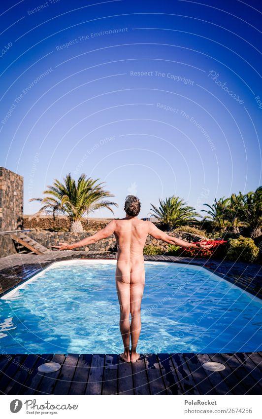 #AS# The Pool Guy Mensch maskulin ästhetisch Schwimmbad Ferien & Urlaub & Reisen Urlaubsfoto Urlaubsstimmung Urlaubsort Urlaubsgrüße Urlaubsflirt Gesäß Akt