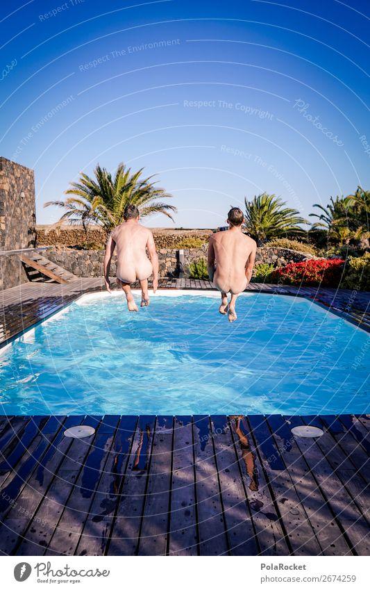 #AS# friendship II Mensch Jugendliche nackt Junger Mann Freude Lifestyle lustig Glück außergewöhnlich Freiheit Zusammensein Freundschaft Freizeit & Hobby wild