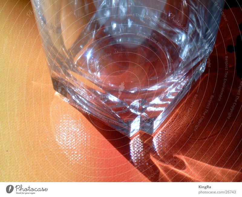 Auch ein leeres Glas ist schön 1 rot Glas leer Häusliches Leben Whiskey