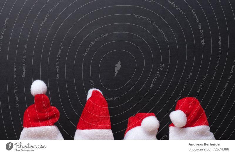 Weihnachtsmänner Natur Weihnachten & Advent Winter Hintergrundbild Business Büro Design Tradition Hut Mütze altehrwürdig Weihnachtsmann Top Gift