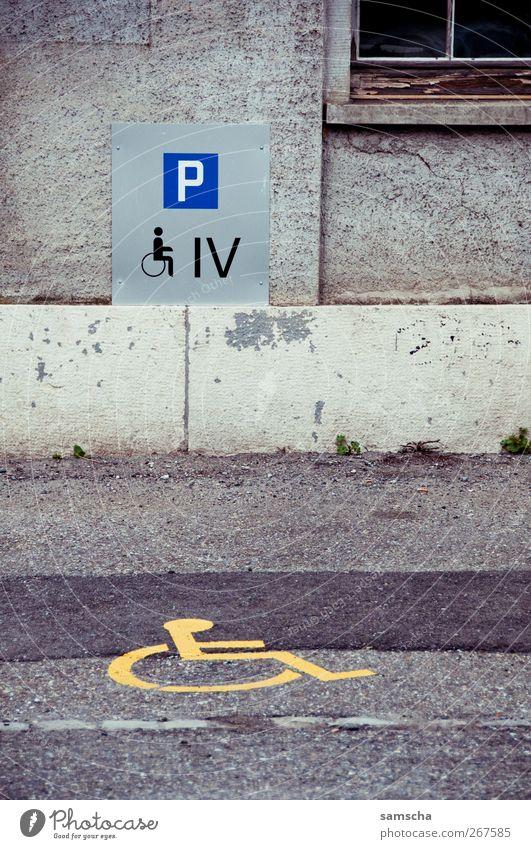 Invalidenparkplatz Stadt Wand Leben Mauer Gebäude Gesundheit Kraft Fassade Schilder & Markierungen Platz Verkehr Hilfsbereitschaft Gesundheitswesen
