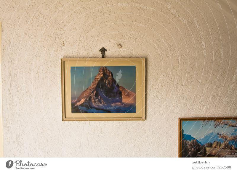 Matterhorn Himmel Natur Ferien & Urlaub & Reisen Stadt Landschaft Ferne Berge u. Gebirge Umwelt Wand Gefühle Innenarchitektur Freiheit Wohnung Tourismus Wetter