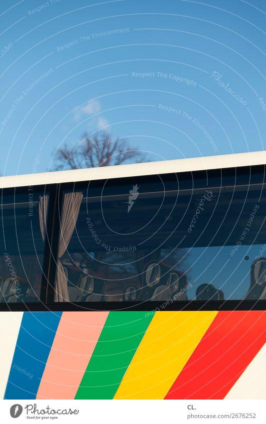 der sonne entgegen Ferien & Urlaub & Reisen Tourismus Ausflug Freiheit Städtereise Sommerurlaub Wolkenloser Himmel Frühling Schönes Wetter Verkehrsmittel Bus
