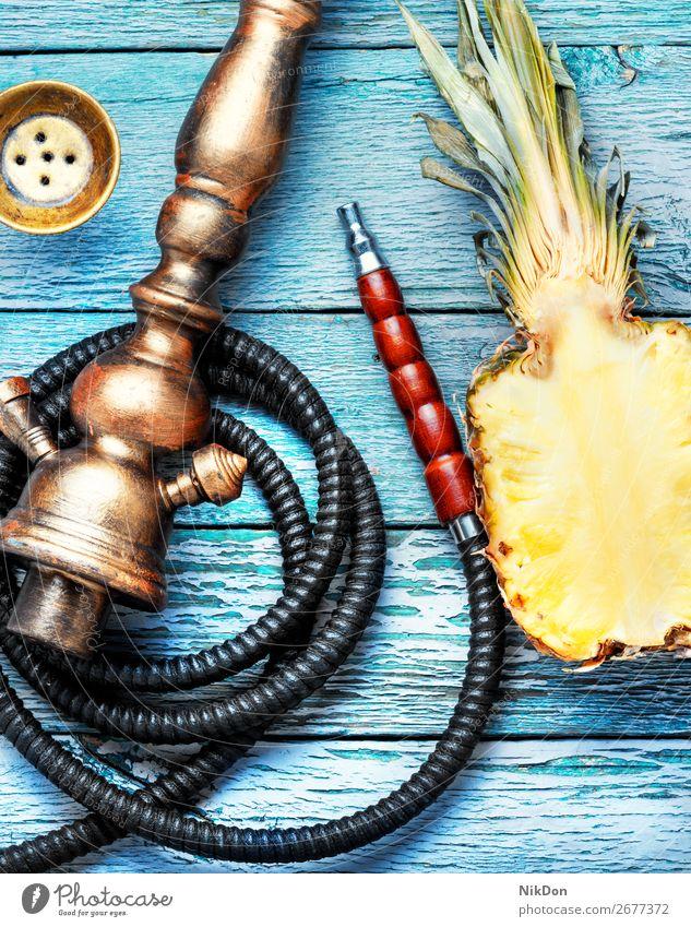 Shisha-Hookah mit Ananas Wasserpfeifenrauch Tabak Frucht Rauch Schalen & Schüsseln shisha Shisha rauchen Mundstück Erholung Wasserpfeifen-Lounge arabisch