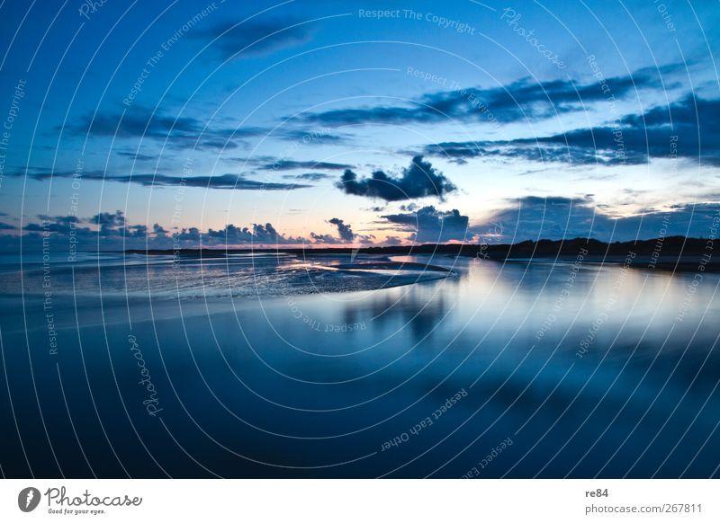 Eine Insel entsteht. Himmel Natur Wasser Meer Sommer Wolken ruhig Erholung Umwelt Landschaft Sand Luft Horizont Erde Schwimmen & Baden Zufriedenheit