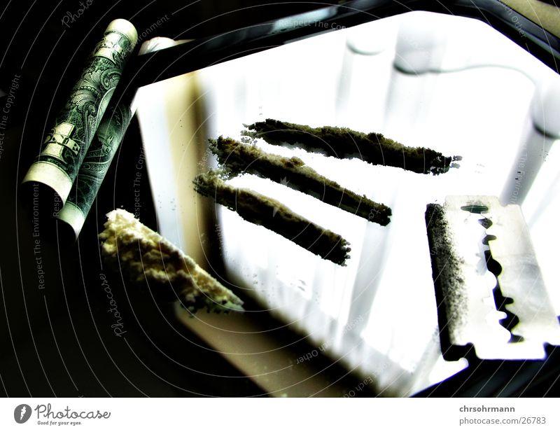 Money makes the world go round .... Rauschmittel Kokain Geld Spiegel Cola Freizeit & Hobby lines