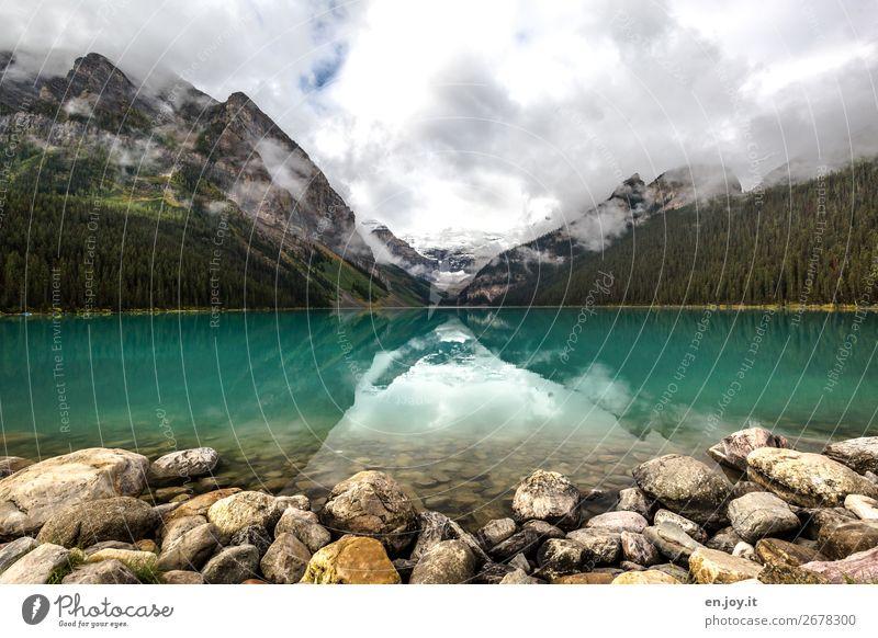 1.000 | Lieblingsmotiv Himmel Ferien & Urlaub & Reisen Natur grün Wasser Landschaft Wolken Ferne Berge u. Gebirge Herbst Tourismus See Felsen Ausflug Idylle