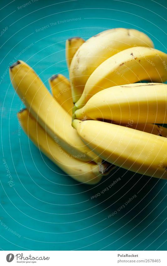 #AS# Banane-Petrol Kunst ästhetisch Bananenstaude Bananenschale Bananenplantage Bananengewächse Bananenmagazin exotisch Südfrüchte Farbfoto mehrfarbig