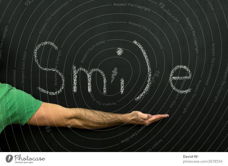 Smile - lach doch mal lachen lächeln positiv Erfolg Zufriedenheit Lebensfreude Fröhlichkeit Freundlichkeit Optimismus Freude Glück