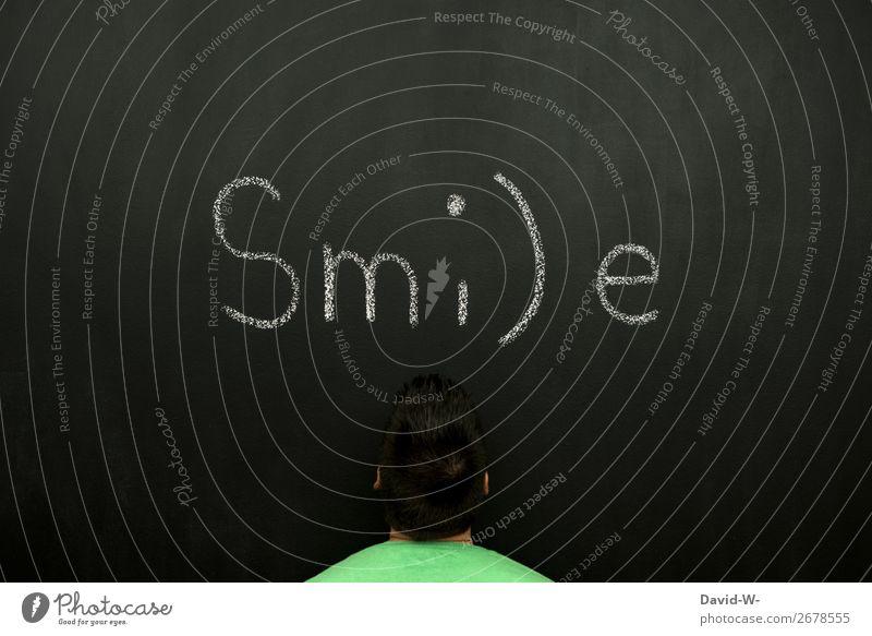 Sm:)e Mensch Jugendliche Mann Junger Mann Erwachsene Leben Stil Business Kunst Schule Kopf Denken Design maskulin elegant Lächeln