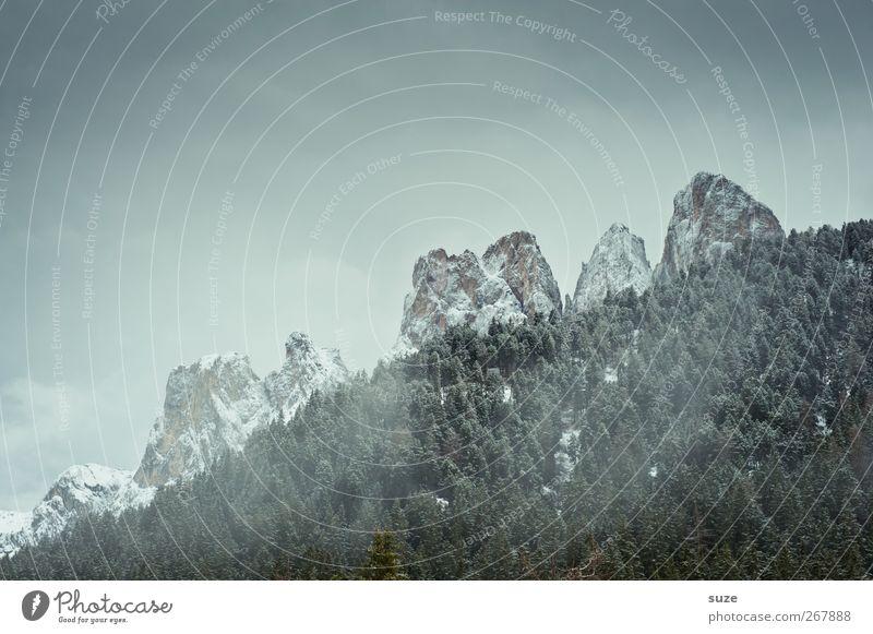 Die 7 Zwergenberge Himmel Natur Ferien & Urlaub & Reisen Sommer Wolken Wald Umwelt Landschaft dunkel Berge u. Gebirge Luft Freizeit & Hobby Klima
