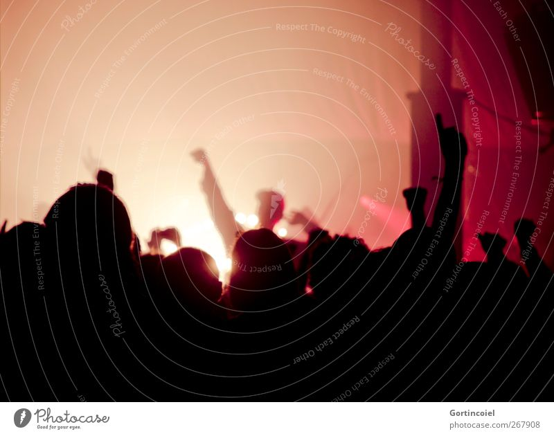 Rebelles Nachtleben Entertainment Party Veranstaltung Musik Feste & Feiern Tanzen Konzert Sänger Fan Gefühle Stimmung Freude Glück Fröhlichkeit Lebensfreude