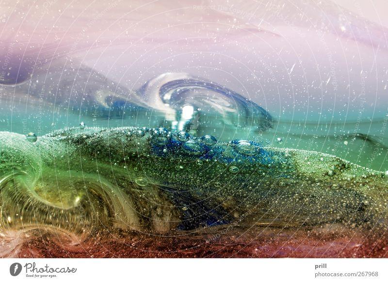 inside glass scenery Natur Landschaft Hintergrundbild Kunst träumen Idylle Idee Hoffnung Hügel Flüssigkeit exotisch Handwerk Paradies Schweben Surrealismus